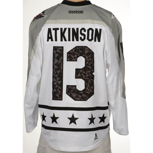 2017 Cam Atkinson Metropolitan All Star Reebok Jersey - Pastime Sports & Games