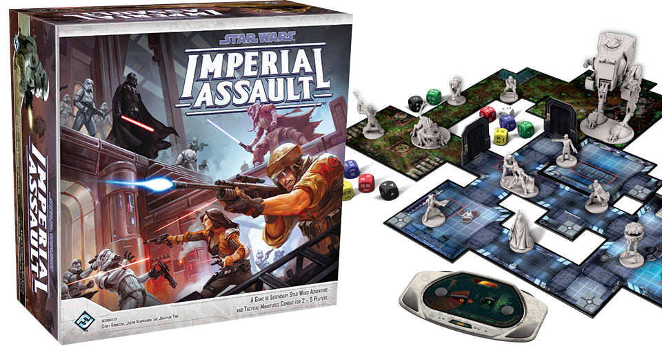 Star Wars Imperial Assault - Pastime Sports & Games