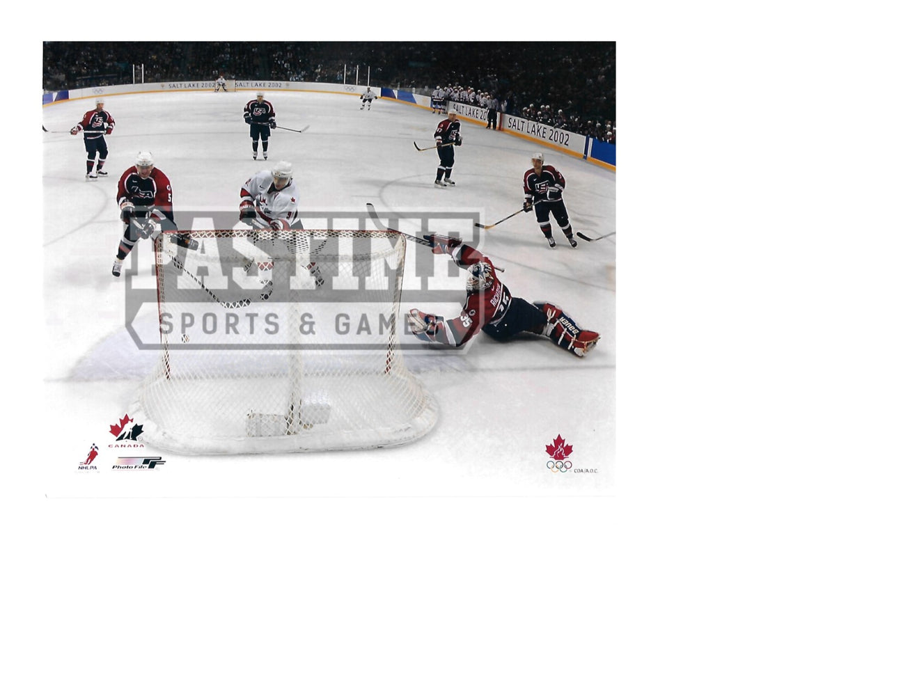 Joe Sakic 8X10 Team Canada Away Jersey (Scored) - Pastime Sports & Games