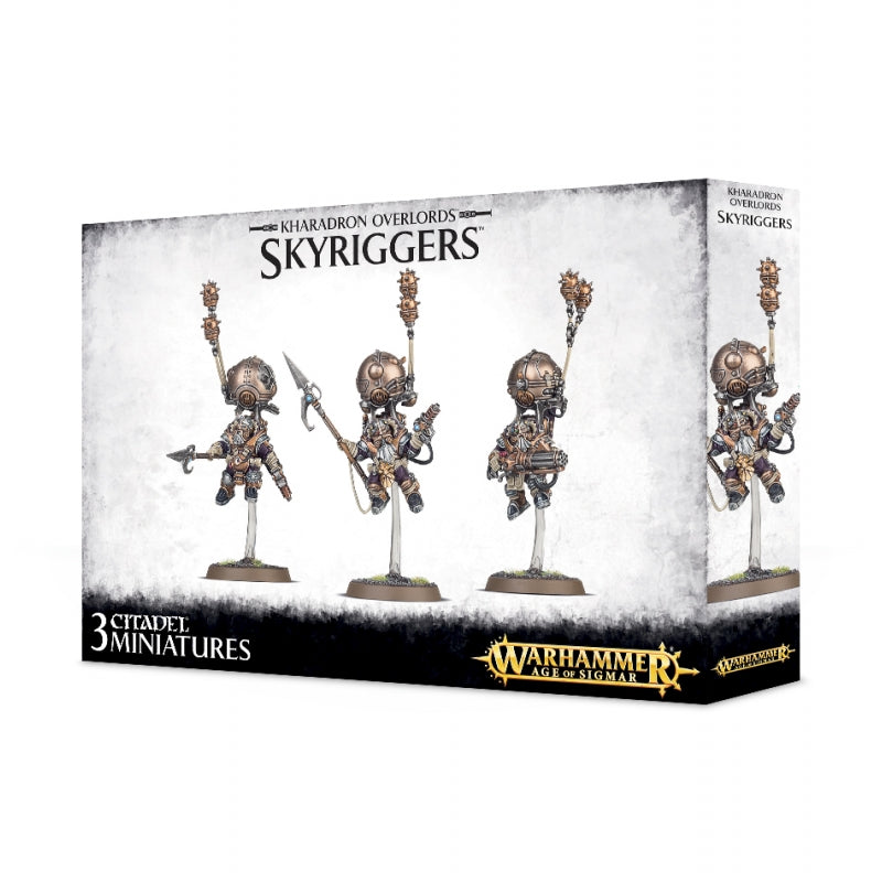 Warhammer Age Of Sigmar Kharadron Overlords Skyriggers (84-36) - Pastime Sports & Games