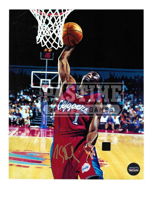 Lance Stevenson Autographed 8X10 Los Angeles Clippers (About To Dunk) - Pastime Sports & Games
