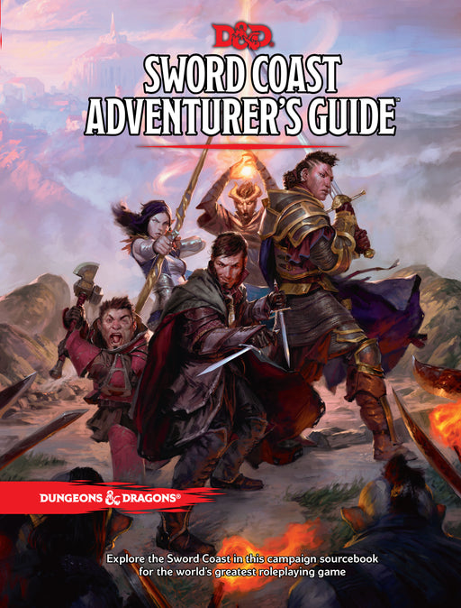 Dungeons & Dragons Sword Coast Adventurer's Guide - Pastime Sports & Games