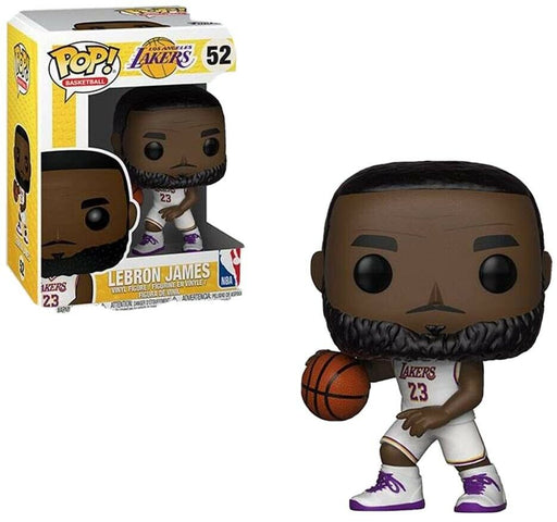 Funko Pop! Basketball Los Angeles Lakers LeBron James #52 - Pastime Sports & Games