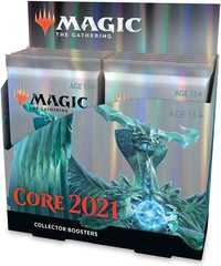 Magic The Gathering Core 2021 Collectors Booster - Pastime Sports & Games