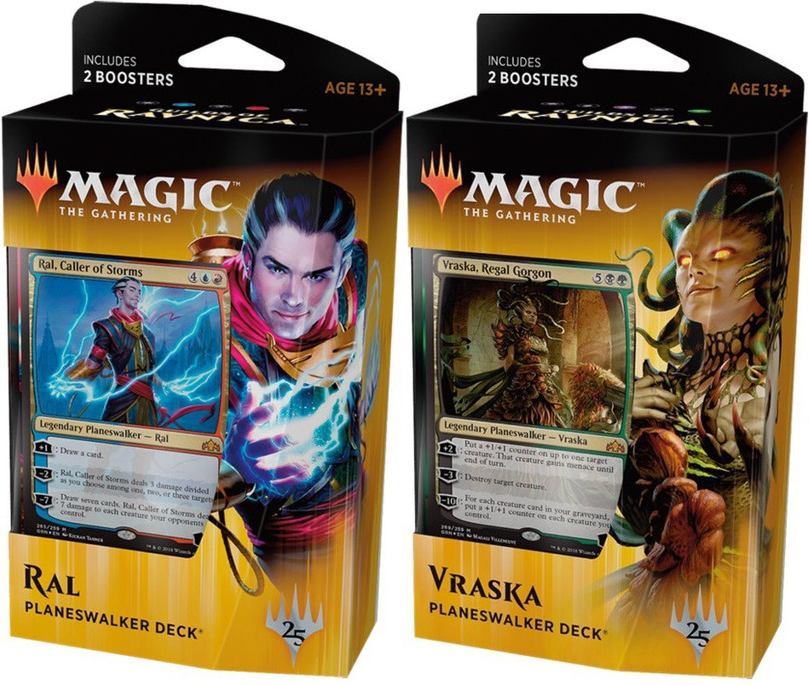 Magic The Gathering Guilds Of Ravnica Planeswalker Deck - Pastime Sports & Games