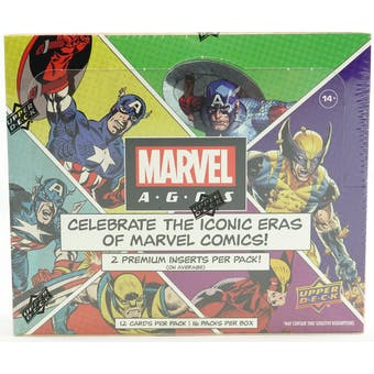 2020 Marvel Ages Hobby Box - Pastime Sports & Games
