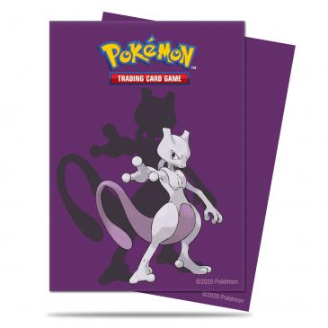 Ultra Pro Mewtwo Deck Protector sleeves for Pokémon 65ct - Pastime Sports & Games