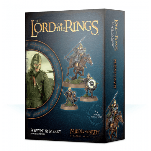 Middle Earth Strategy Battle Game Lord Of The Rings Eowyn & Merry (30-45)