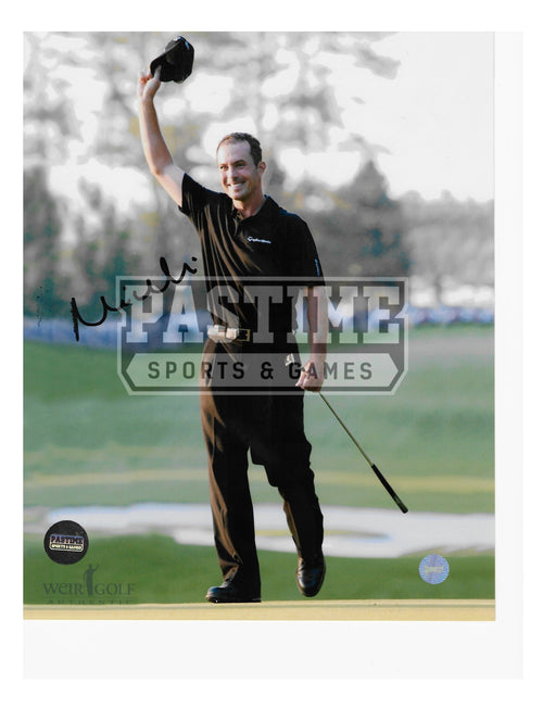 Mike Weir Autographed 8X10 (Waving) - Pastime Sports & Games