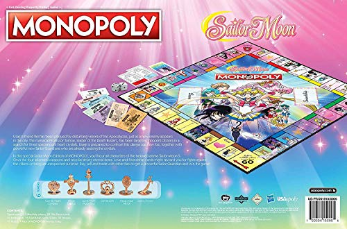 Monopoly Sailor Moon - Pastime Sports & Games