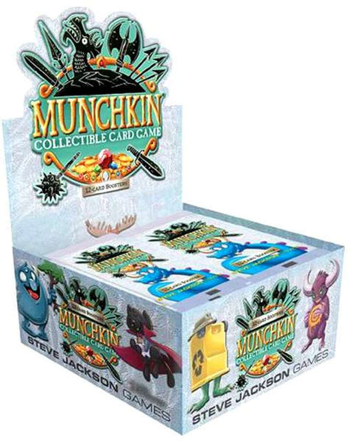 Munchkin Collectible Card Game Booster - Pastime Sports & Games