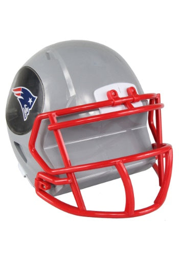 New England Patriots Football Piggy Bank Helmet (Grey FOCO) - Pastime Sports & Games