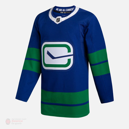 2019/20 Vancouver Canucks Adidas Alternate Home Blue Jersey - Pastime Sports & Games