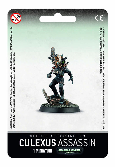 Warhammer 40,000 Officio Assassinorum Culexus Assassin (52-11) - Pastime Sports & Games