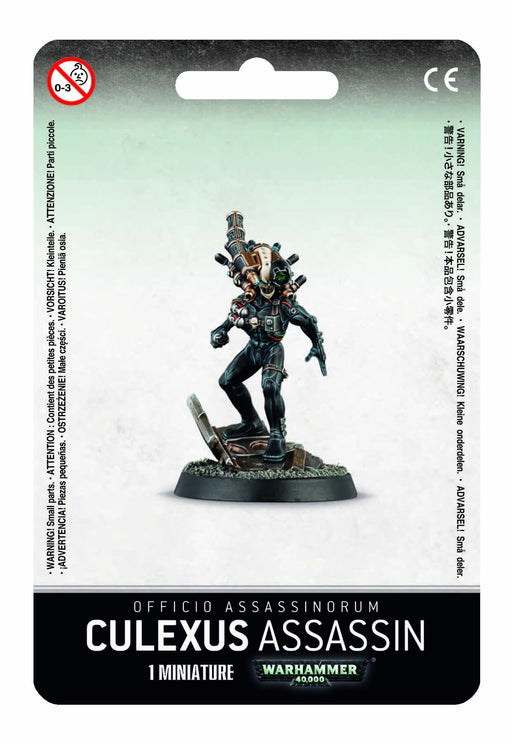 WEarhammer 40,000: Officio Assassinorum Culexus Assassin (52-11)