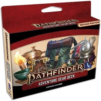 Pathfinder Second Edition Adventure Gear Deck - Pastime Sports & Games