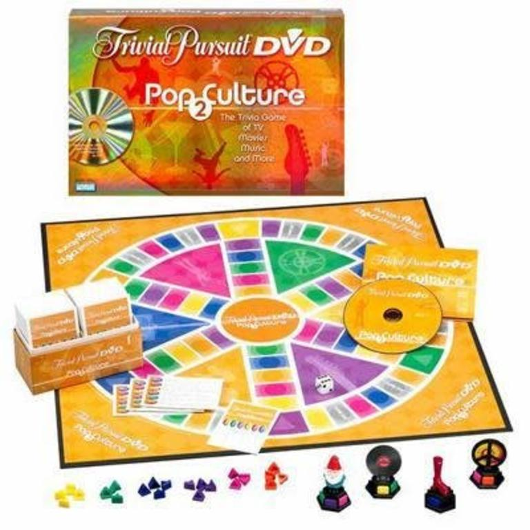 Trivial Pursuit DVD Pop Culture 2 - Pastime Sports & Games