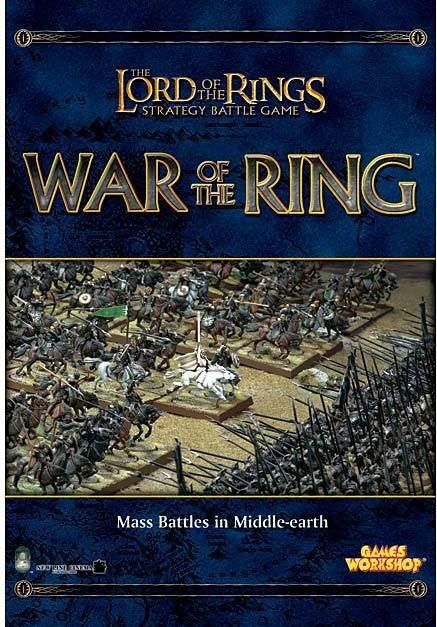 The Lord Of The Rings Strategy Battle Game War Of The Ring - Pastime Sports & Games