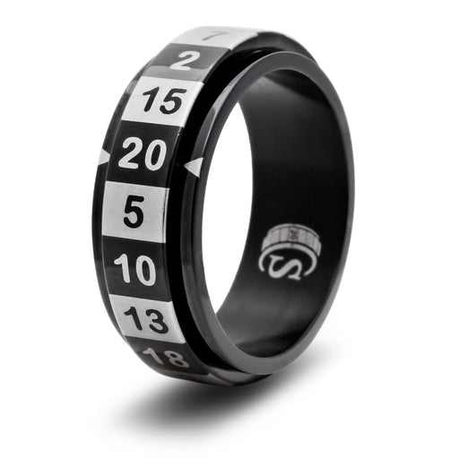 CritSuccess Dice Ring Black - Pastime Sports & Games