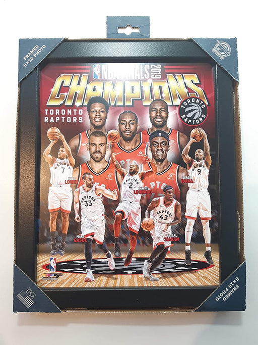 NBA Toronto Raptors Team Celebration Framed Photo - Pastime Sports & Games