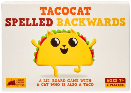 Tacocat Spelled Backwards - Pastime Sports & Games