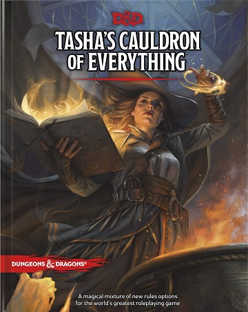 Dungeon & Dragons Tasha's Cauldron of Everything - Pastime Sports & Games