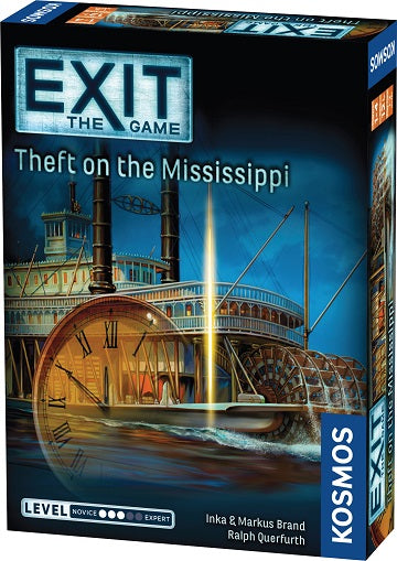 EXIT Theft on the Mississippi - Pastime Sports & Games