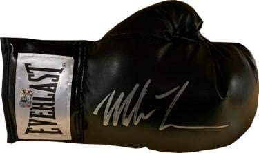 Mike Tyson Black Autographed Right Hand Boxing Glove - Pastime Sports & Games
