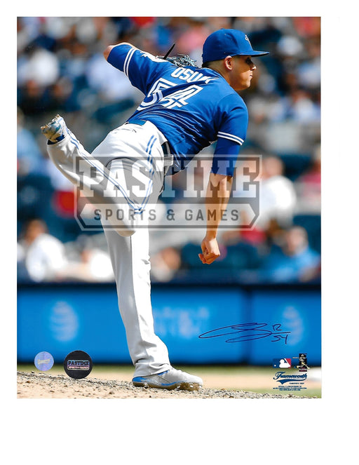 Roberto Osuna Autographed 8X10 Toronto Blue Jays (Throwing Ball) - Pastime Sports & Games