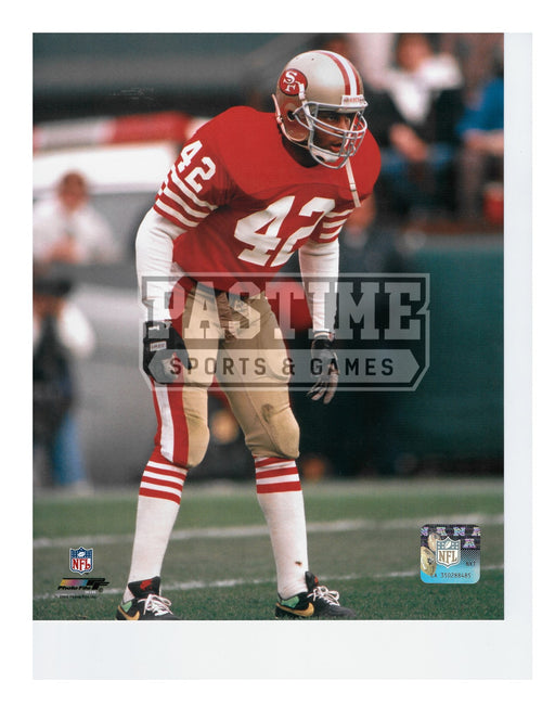 Ronnie Lott 8X10 San Fran 49ers (Standing) - Pastime Sports & Games