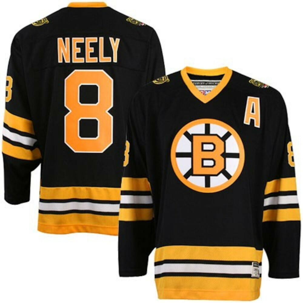 Cam Neely CCM Boston Bruins Mens Black Hockey Jersey - Pastime Sports & Games