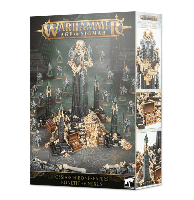 Warhammer Age Of Sigmar: Ossiarch Bonereapers Bonetithe Nexus (94-32) - Pastime Sports & Games