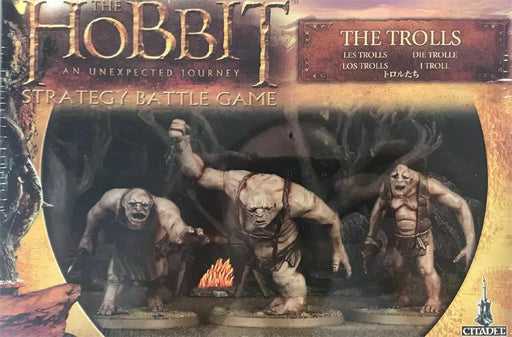 The Hobbit Strategy Battle Game The Trolls (32-05) - Pastime Sports & Games