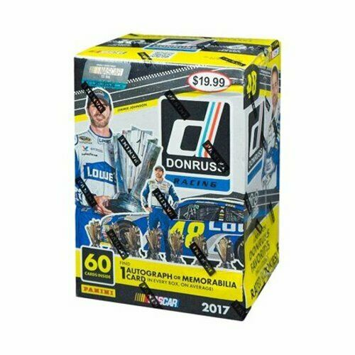 2017 Panini Donruss Racing Blaster Box - Pastime Sports & Games