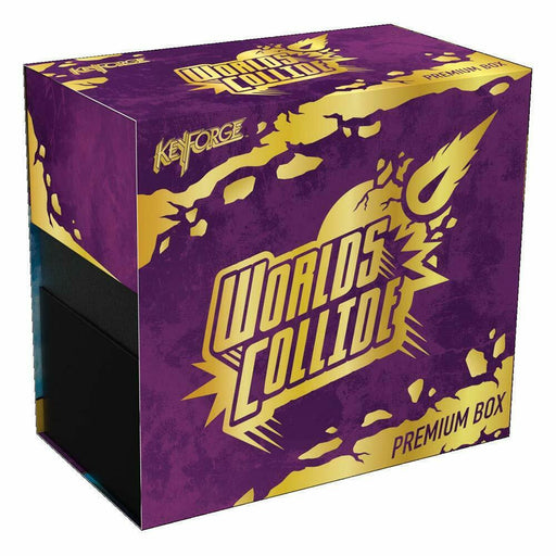Keyforge Worlds Collide Premium Box - Pastime Sports & Games
