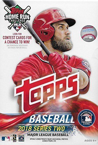 2018 Topps Series Two Baseball Hanger Box - Pastime Sports & Games