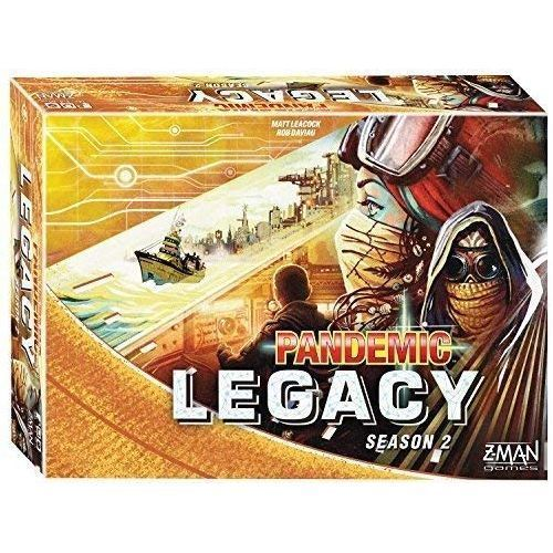 Pandemic Legacy Season 2 (Yellow Box) - Pastime Sports & Games