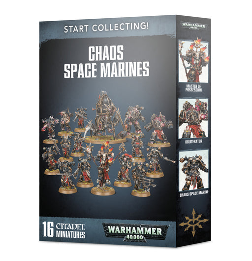 Warhammer 40,000 Start Collecting! Chaos Space Marines (70-40) - Pastime Sports & Games