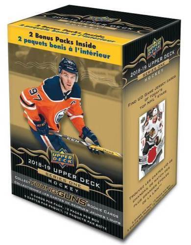 2018/19 Upper Deck Series One Hockey Blaster Box
