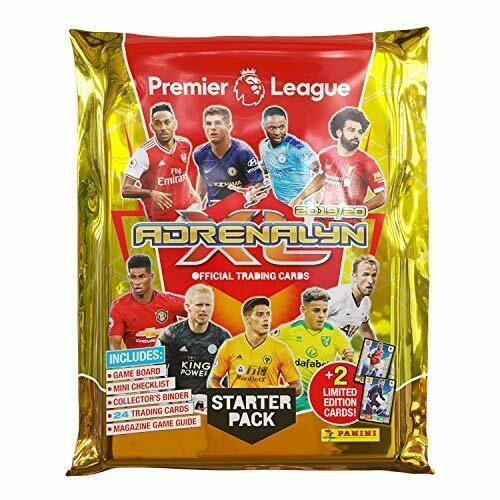 2019/20 Panini Adrenalyn Premier League Soccer Starter Pack - Pastime Sports & Games