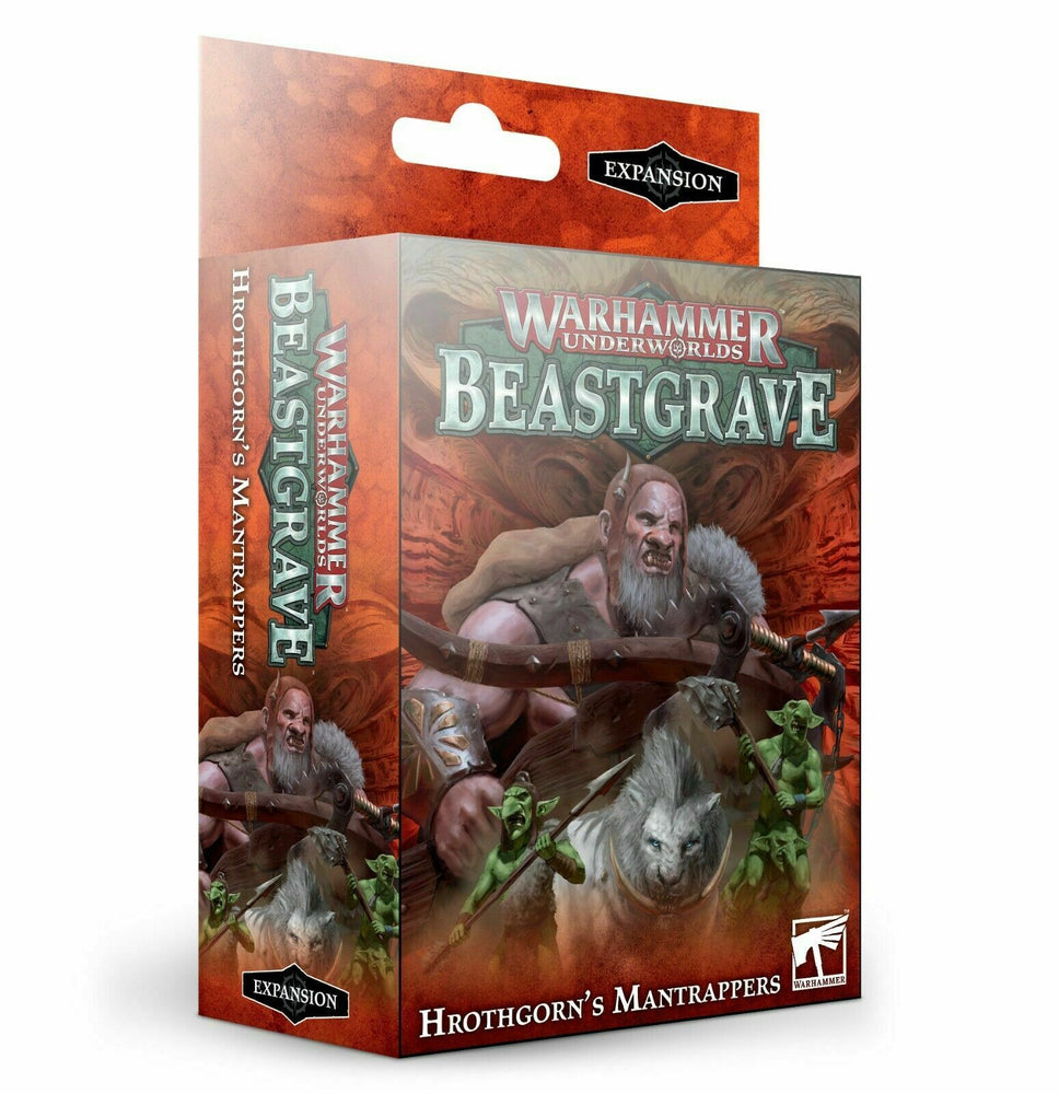 Warhammer Underworlds Beastbrave Hrothgorn's Mantrappers (110-82-60) - Pastime Sports & Games