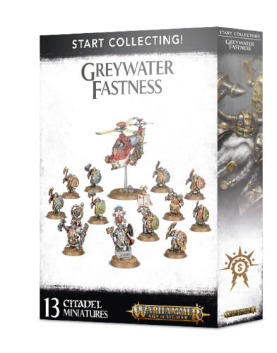 Warhammer Age of Sigmar Start Collecting! Greywater Fastness (70-71) - Pastime Sports & Games