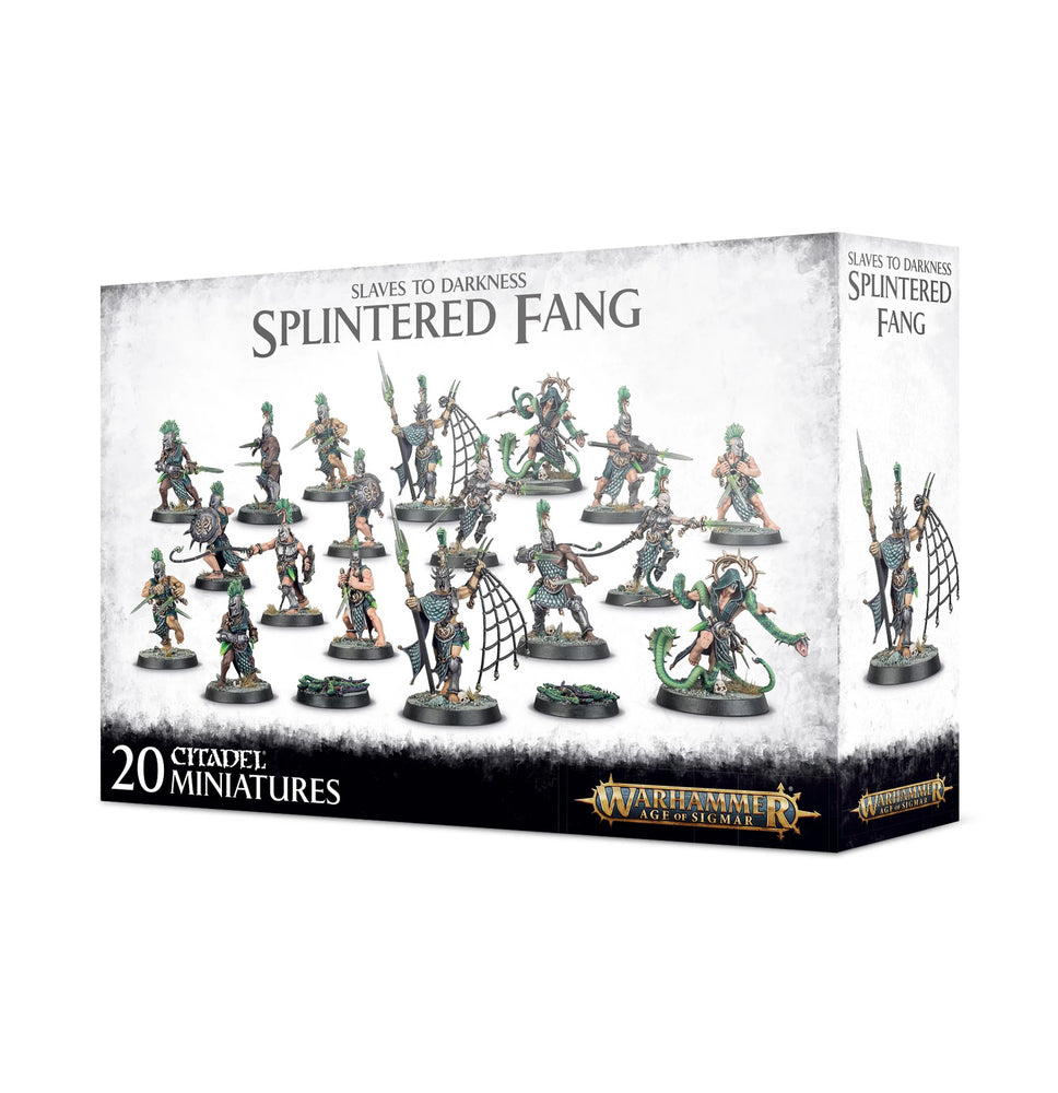 Warhammer Age of Sigmar Slaves To Darkness Splintered Fang (83-35) - Pastime Sports & Games