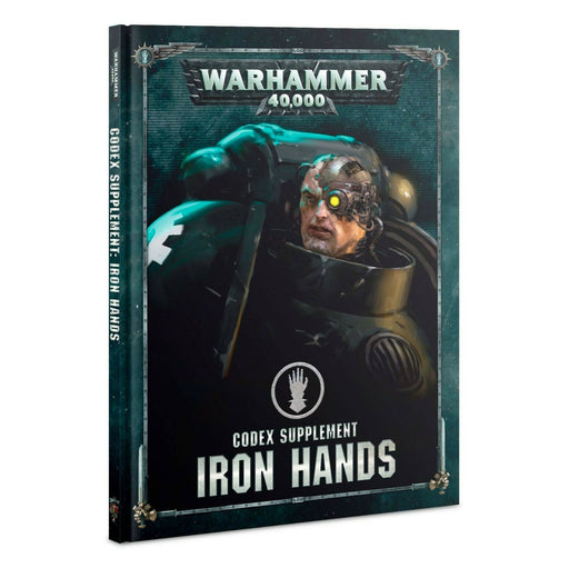 Warhammer 40,000  Codex Supplement Iron Hands (55-05)