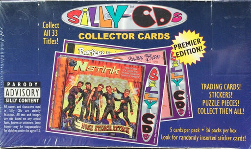 2001 Silly CD's - Pastime Sports & Games