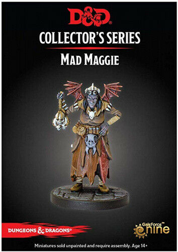Dungeons & Dragons Collector's Series Mad Maggie - Pastime Sports & Games