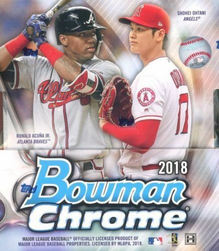2018 Topps Bowman Chrome Baseball Hobby - Pastime Sports & Games