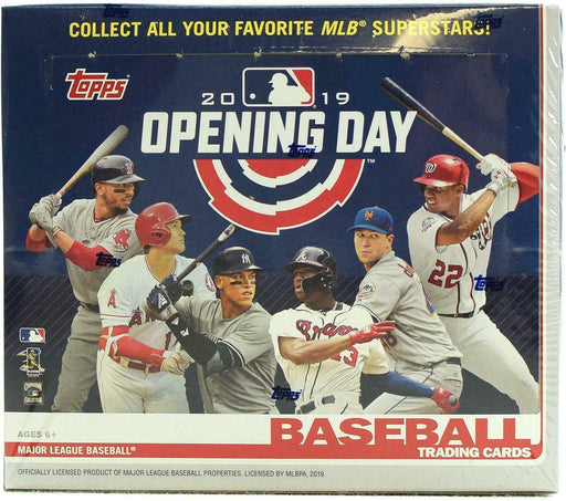 2019 Topps Opening Day Baseball Hobby - Pastime Sports & Games
