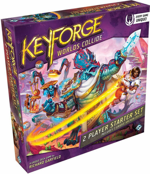 Keyforge Worlds Collide 2 Player Starter Set - Pastime Sports & Games
