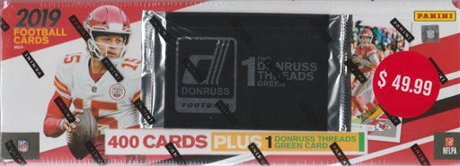 2019 Donruss Football Factory Set - Pastime Sports & Games